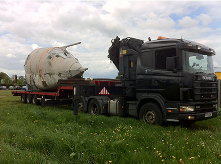 Dave Forrest Transport Haulage and Crane Hire
